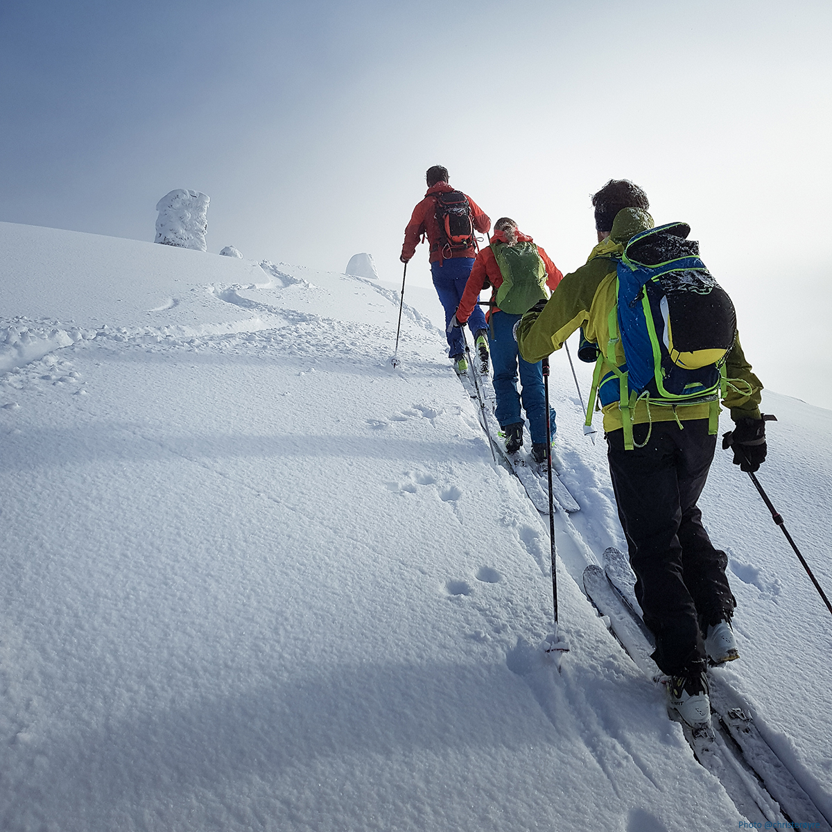 Ski and sail in Sunnmore alps in Norway